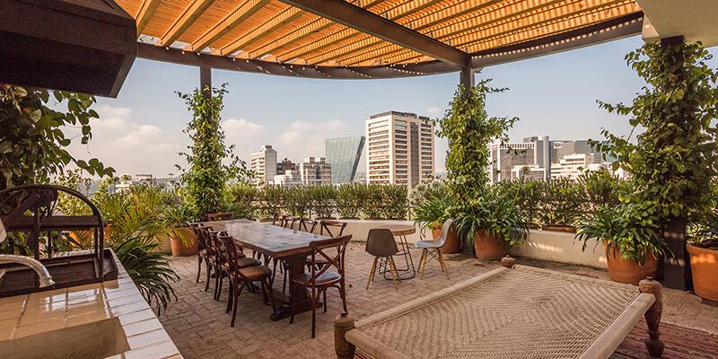 Penthouse Polanquito, Mexico City